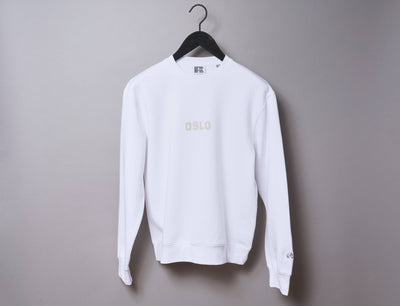 Clothing Sweater OSLO Crew Neck Sweater White/Off White LOKK
