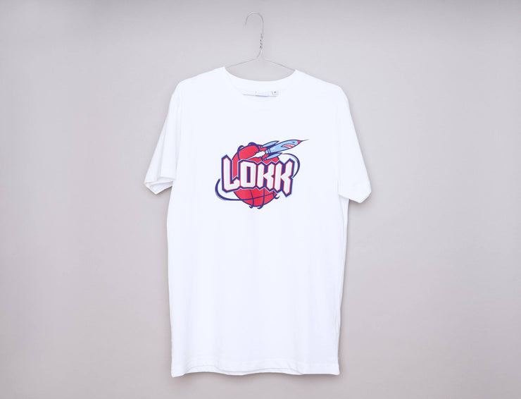 Clothing Tee Oslo Rockets Tee White LOKK