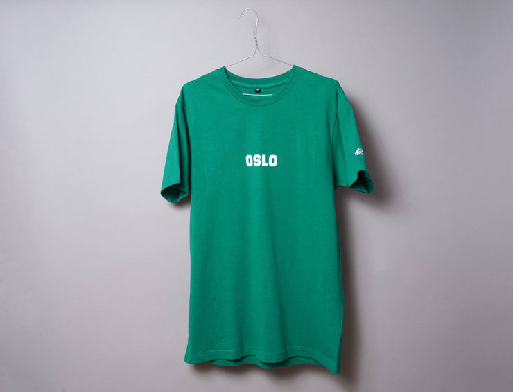 Clothing Tee OSLO Tee Green/White LOKK