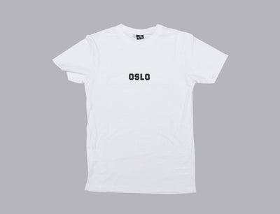 OSLO Tee White/Black