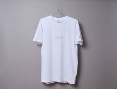 Clothing Tee OSLO Tee White/Off White LOKK