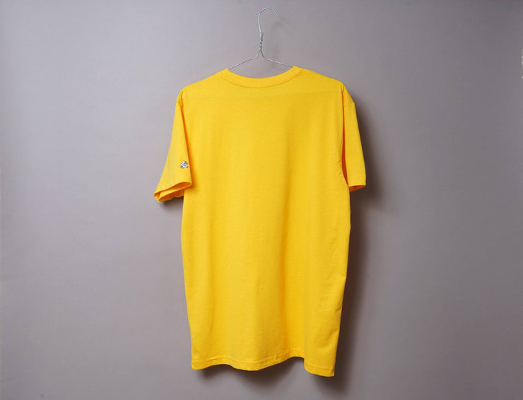 Clothing Tee OSLO Tee Yellow/Black LOKK