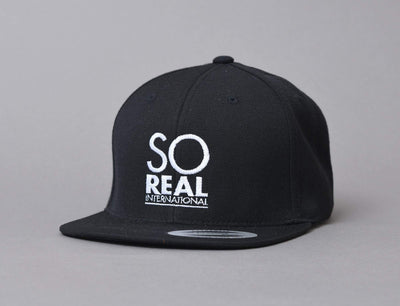 Cap Snapback LOKK X SO REAL INTERNATIONAL LOKK X Snapback Cap / Black / One Size