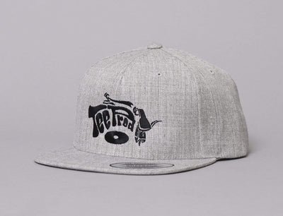 Cap Snapback LOKK X TEE PROD HEATHER GREY/BLACK LOKK X Snapback Cap / Grey / One Size