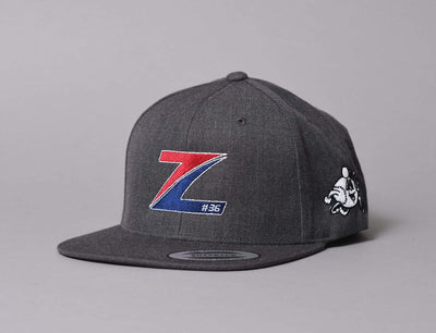 Mats Zuccarello - Snapback Dark Heather Grey