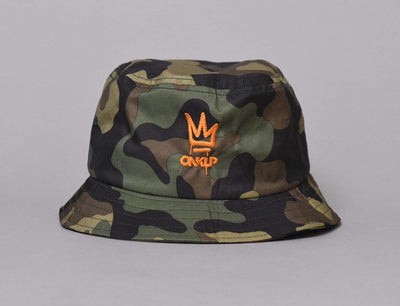 LOKK X ONKLP BUCKET CAMO/ORANGE
