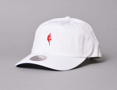 Little Dribbler Dad Hat NBA White/red