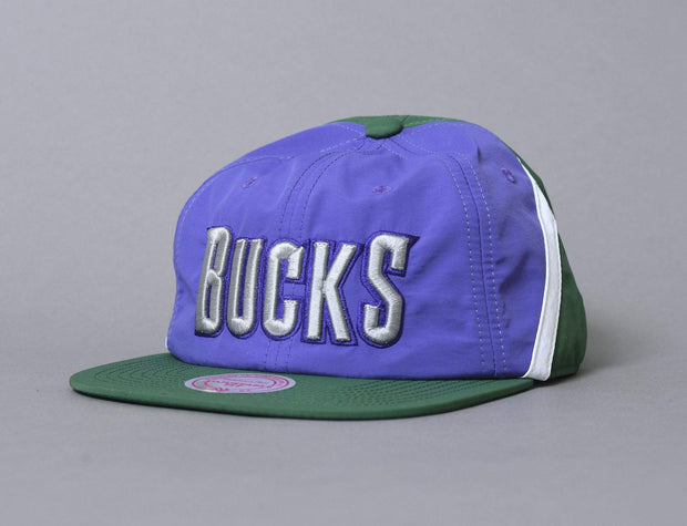 Mitchell & Ness Anorak Snapback Milwaukee Bucks