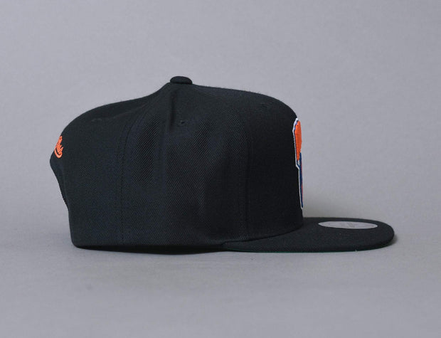 Mitchell & Ness Wool Solid New York Knicks Black