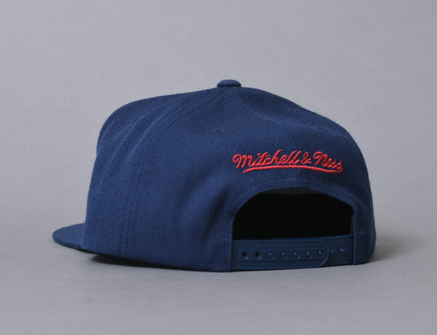 Mitchell & Ness Wool Solid Denver Nuggets Navy