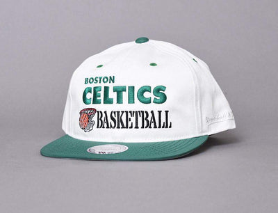 Cap Snapback BOSTON CELTICS SNAPBACK CAP - DUNK  OFF WHITE MITCHELL & NESS Mitchell & Ness Snapback Cap / White / One Size