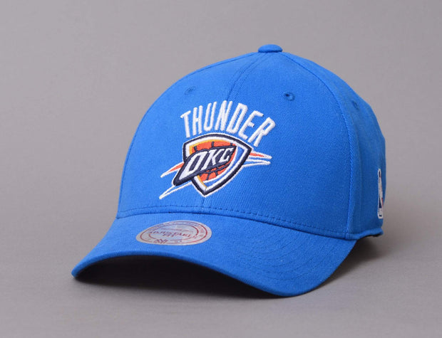 Mitchell & Ness Low Pro Snapback Oklahoma City Thunders Blue