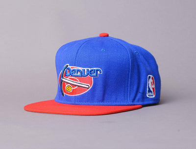 Cap Snapback Mitchell & Ness - NBA 2 Tone, Denver Nuggets Mitchell & Ness Snapback Cap / Team / One Size