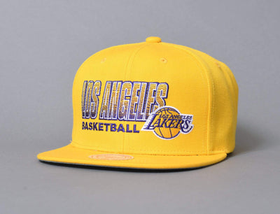 Cap Snapback Mitchell & Ness Score Keeper LA Lakers Mitchell & Ness Snapback Cap / Team / One Size