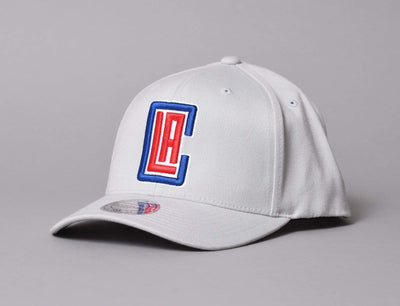 Cap Snapback Team Logo High Crown Flexfit 110 Snapback LA Clippers Mitchell & Ness Snapback Cap / Grey / One Size