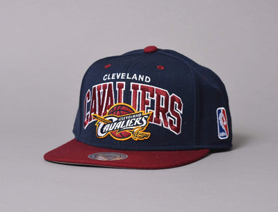 Cap Snapback Team Arch Snapback Cleveland Cavaliers Mitchell & Ness Snapback Cap / Team / One Size