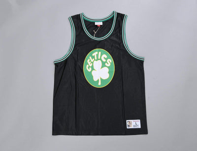 Clothing Basketball Jersey Mitchell & Ness Dazzle Tank Top Boston Celtics Black Mitchell & Ness