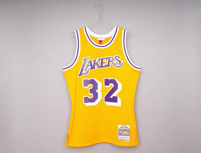Mitchell & Ness Swingman Jersey LA Lakers 84 Home Magic Johnson