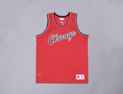 Clothing Basketball Jersey Mitchell & Ness Mesh Tank Top Chicago Bulls Mitchell & Ness