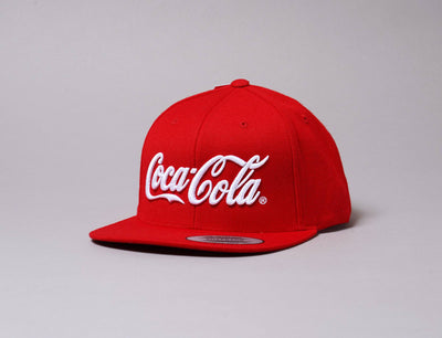 Cap Adjustable Coca Cola Snapback Cap Red Mr Tee Adjustable Cap / Red / One Size