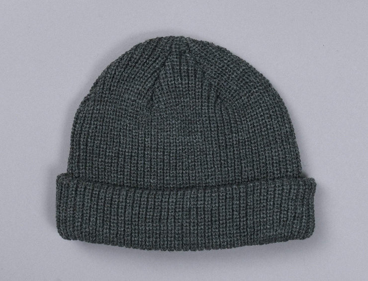 Beanie Fisherman MSTRDS 105472 Fisherman Beanie Heather Charcoal MSTRDS Fisherman Beanie / Grey / One Size
