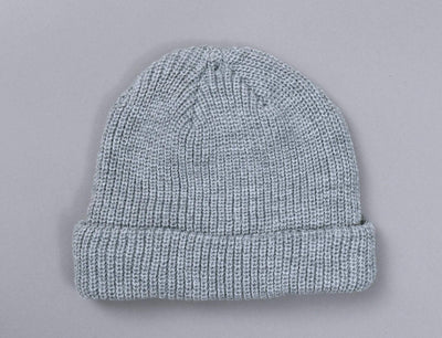 MSTRDS 105472 Fisherman Beanie Heather Grey