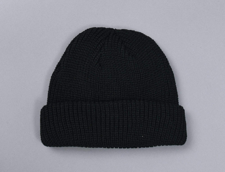 Beanie Fisherman MSTRDS 10547 Fisherman Beanie Black MSTRDS Fisherman Beanie II / Black / One Size