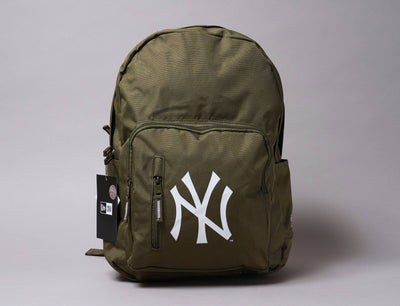 Accessories Backpack Cram Pack Redux NY Yankees Olive New Era Backpack / Green / One Size
