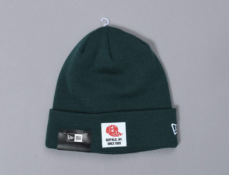 Essential Patch Knit Dark Green
