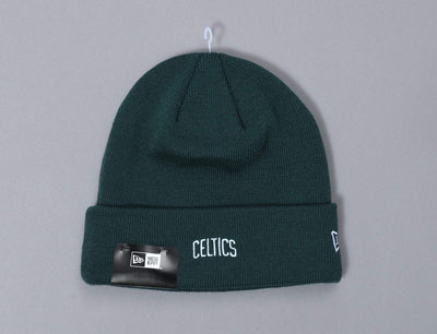 Beanie Cuff Essential Cuff Knit Wordmark Boston Celtics New Era Cuff Beanie / Green / One Size