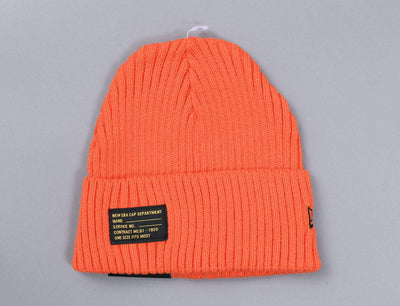 Beanie Cuff Watch Man Knit Orange New Era Cuff Beanie / Orange / One Size