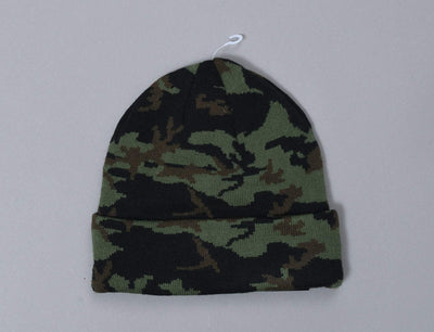 Beanie Cuff Camo Cuff Knit New Era