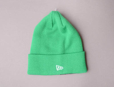 Beanie Cuff NE Original Basic Cuff Knit Fluor Green New Era Cuff Beanie / Fluro Green / One Size