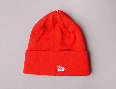Beanie Cuff NE Original Basic Cuff Red New Era Cuff Beanie / Scarlet Red / One Size