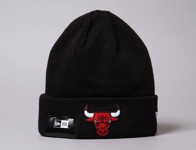 Beanie Cuff Lue Chicago Bulls Black New Era Cuff Knit / Team / One Size