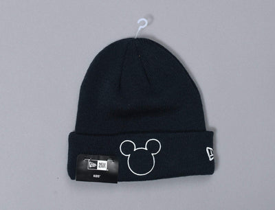 Beanie Kids Disney Silhouette Knit Kids Mickey Mouse New Era
