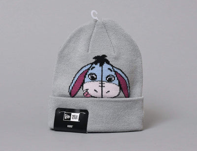 Beanie Kids Kids Knit Disney Character Eeyore Grey New Era Kids Knit / Grey / Child