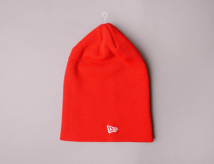 Beanie Long New Era Original Long Knit Red New Era Long Beanie / Red / One Size