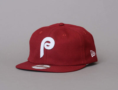 Cap Adjustable 19Twenty Heritage MLB Philadelphia Phillies Burgundy/White New Era 19TWENTY / Red / One Size