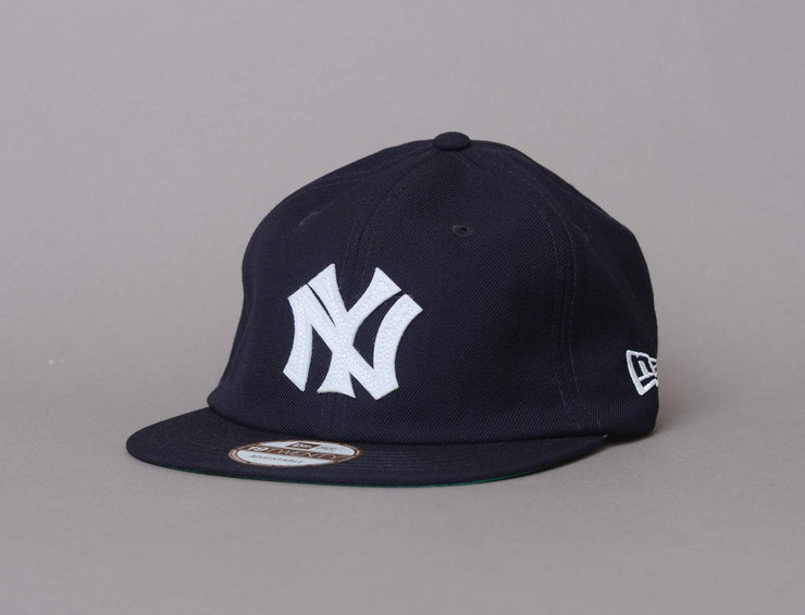 NY Yankees Cap Navy/White 19Twenty Heritage MLB