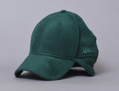 Cap Flexfit 39THIRTY Winter Utility Micro Fleece Dark Green New Era