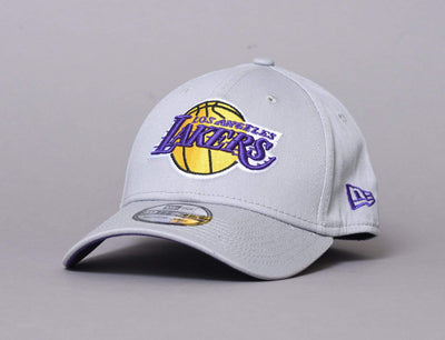 LA Lakers Flexfit Cap Grey NBA Team 39THIRTY