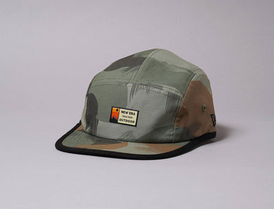 Cap 5-Panel New Era Outdoor Camper Korea Collection Grey New Era 5-Panel Cap / Grey / One Size