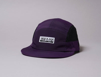 Cap 5-Panel New Era Camper Mesh Panel Korea Collection Purple New Era 5-Panel Cap / Purple / One Size