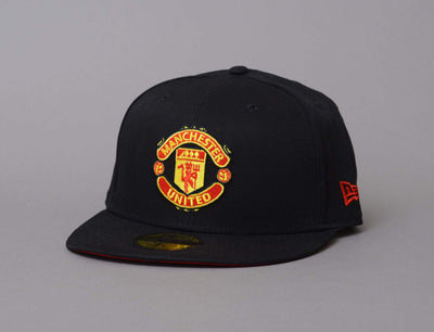 Cap Fitted 59Fifty Basic Manchester United Black New Era