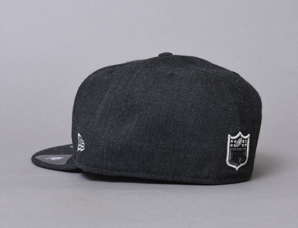 59FIFTY NFL Heather Oakland Raiders Heather Black