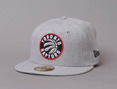 Cap Fitted 59Fifty NBA Heather Fitted Toronto Raptors New Era