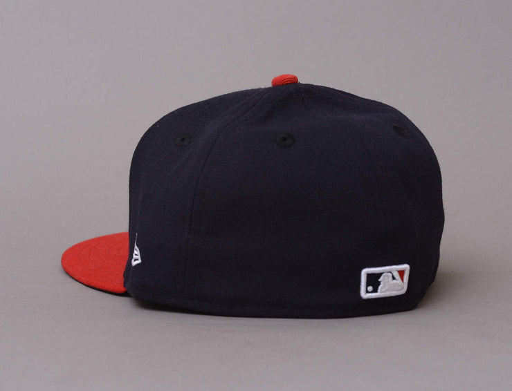 Cap Fitted 59Fifty AC Perf Atlanta Braves Home New Era
