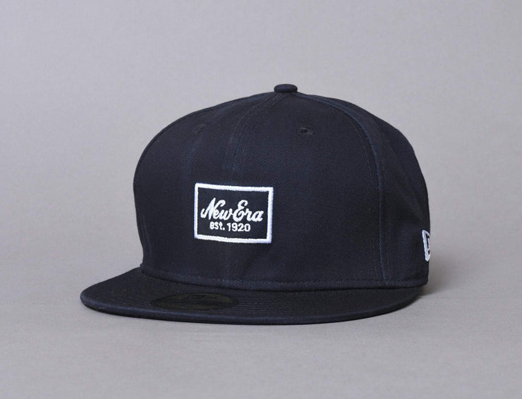 Cap Fitted 59FIFTY NE Script Pack Navy New Era
