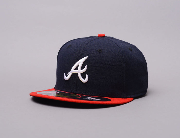 Cap Fitted Authentic MLB Atlanta Braves Home New Era